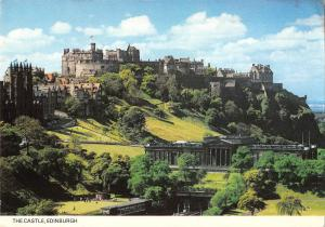 BR82569 the castle edinburgh scotland