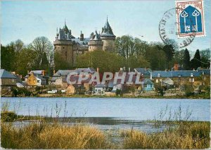 The Modern Postcard Brittany combourg (i and v) the feudal castle 30777
