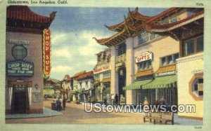 Chinatown - Los Angeles, CA