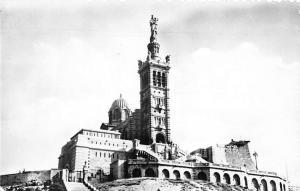 France Marseille Bouches du Rhone Notre Dame de la Garde