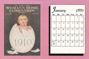 January 1993 Limited Editon Calendar Card