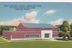 Pennsylvania Annville Lynch Memorial Physical Education Building Lebanon Vall...