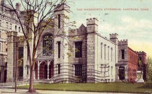 HARTFORD CONNECTICUT WADSWORTH ATHENEUM 1908