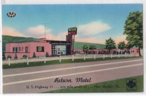 Return Motel, New Market VA
