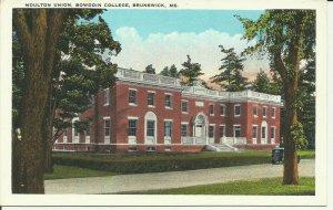 Brunswick, Me., Moulton Union, Bowdoin College