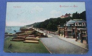 Vintage  Postcard West Beach Southend - On - Sea   B1B