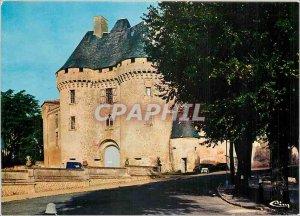 Postcard Modern Barbezieux (Charente) Le Chateau