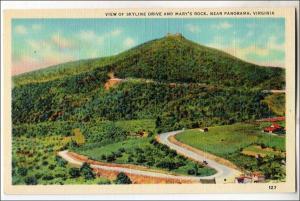 Skyline Dr & Mary's Rock, Panorama VA