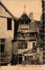 CPA LISIEUX - Rue aux Févres - Vueix Manoir de Francois Ier (516730)