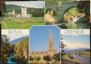 Scotland Royal Deeside Balmoral Castle Brig O'Feugh - posted 2010