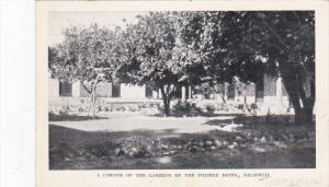 A corner of the Gardens of the Figtree Hotel , NELSPRUIT , Transvaal , S.A. ,...