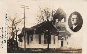 LPS87 Hillsboro Oregon Methodist Episcopal Church Postcard RPPC