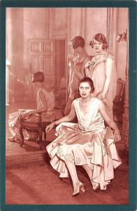 Spring Fashions, special collection, models 1928 Nostalgia Reprint