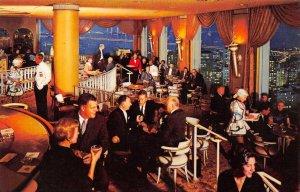 FAIRMONT HOTEL Nob Hill San Francisco, CA Crown Room Cocktail Lounge Postcard