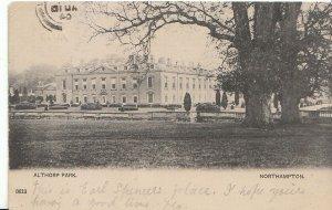 Northamptonshire Postcard - Althorp Park   U1414