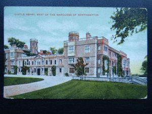 CASTLE ASHBY Marquess of Northampton - Old Postcard by G.D.& D. Star Series