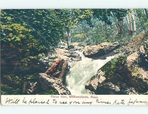 Pre-1907 WATER SCENE Williamstown Massachusetts MA A0896