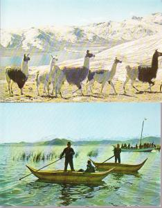 Bolivia - Two Postcards