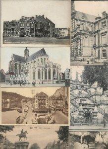 Belgium Zeebrugge Louvain Liege Namur and more Postcard Lot of 20 01.09