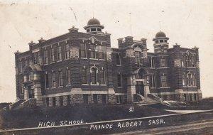 RP: PRINCE ALBERT , Saskatchewan, Canada , PU-1912 ; High School