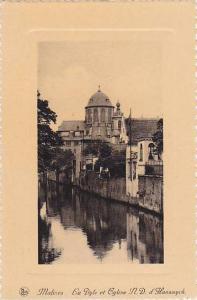La Dyle Et Eglise N.D. d. Hanswyck, Malines (Antwerp), Belgium, 1900-1910s
