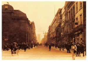 Vintage Reproduction Postcard c1914 Bold Street Liverpool 9Q