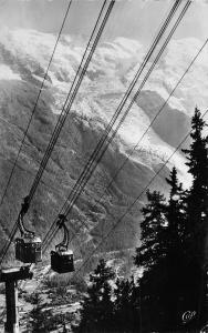 France Chamonix Mont-Blanc Les Bennes de Plan Praz Mont-Blanc Real Foto 1955