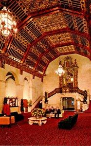 California Los Angeles Biltmore Hotel Lobby