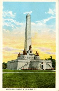 IL - Springfield. Abraham Lincoln Monument