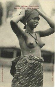 CPA AK Senegal Ethnic Nude Fortier - 1357. Étude N 36 Fille Soussou (70968)
