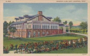 Golf Country Club East Liverpool Ohio Curteich