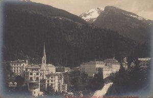 RP: Wildbad-Gastein von d. Schwarzenberg-Anlagen , Austria , 00-10s