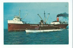 Postcard Canada Steamship Lines St. Lawrence River Thousand Islands Tour VPC01.