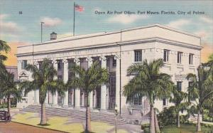 Florida Fort Myers Open Air Post Office City Of Palms