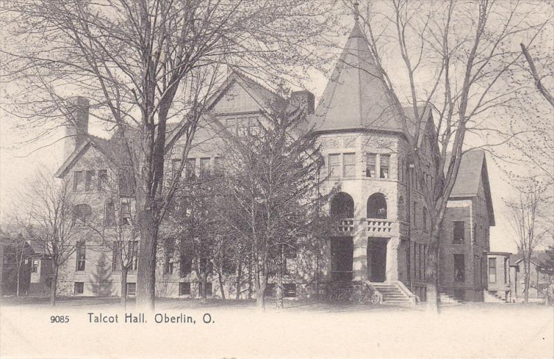 Talcot Hall, Oberlin, Ohio, 1900-1910s