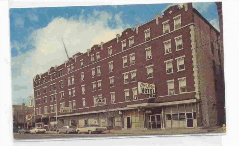 Captain Logan Hotel Logansport Indiana 40 60s
