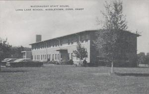 Connecticut MIddletown Mcconaughy Staff House Long Lane School Artvue