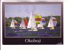 Yingling Class Sailboats, West Okoboji, Iowa, David Thoreson