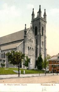 RI - Providence.  St Mary's Catholic Church