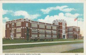 NORTH PLATTE , Nebraska , 1910s ; High School
