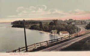 PORTLAND, Maine, 1900-1910's; Lake Shore Park and Inn
