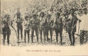 indonesia, SUNDA ALOR, Native Headhunters Family, Cannibals (1899) Postcard (2)