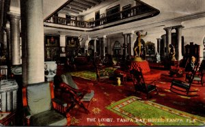 Florida Tampa The Tampa Bay Hotel The Lobby 1913