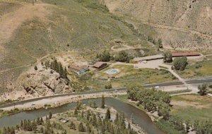 HOT SULPHUR SPRINGS , Colorado , 50-60s ; Hot Sulphur Springs Mineral Baths