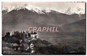 Old Postcard Savoie Tourism Saint Pierre d'Albigny Miolans castle and the gre...