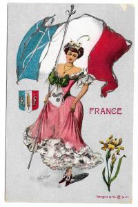 France G Howard Hilder World Countries Series Platinachrome