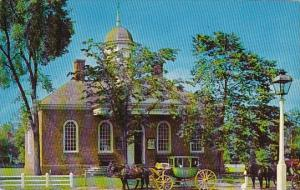 Virginia Williamsburg Old Court House