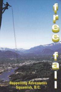 Free Fall Rappelling Adventures,  Squamish,  B.C.,  Canada,  50-70s