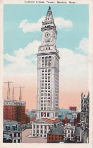 Massachusetts Boston Custom House Tower