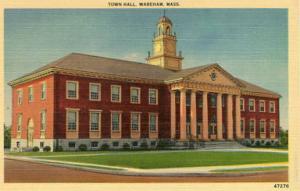MA - Wareham, Town Hall